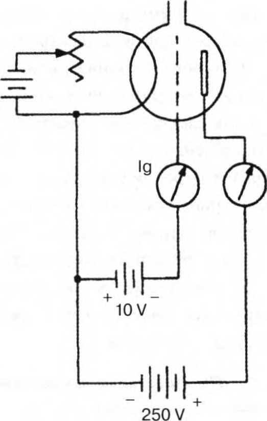 цепь электронного ионизационного триодного вакуумметра